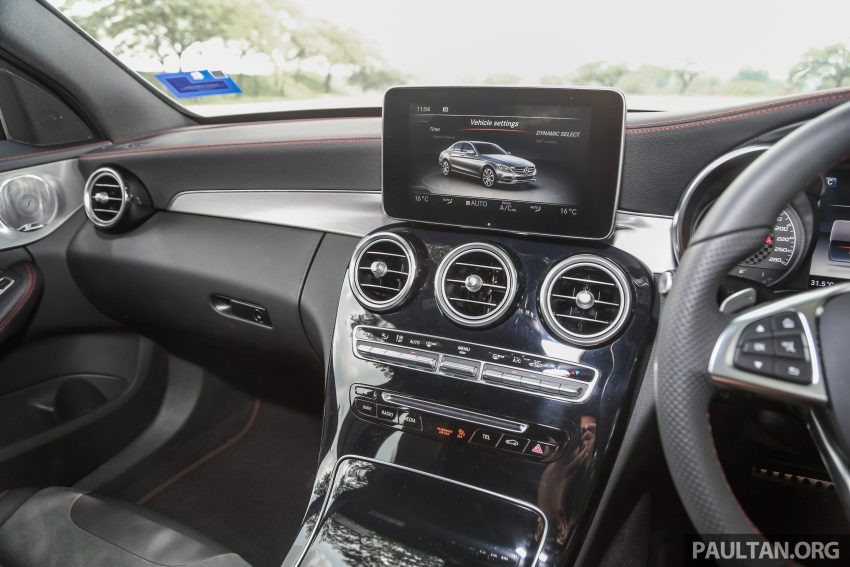 试驾:Mercedes-AMG C 43 / GLC 43,如假包换的 AMG Image #76103