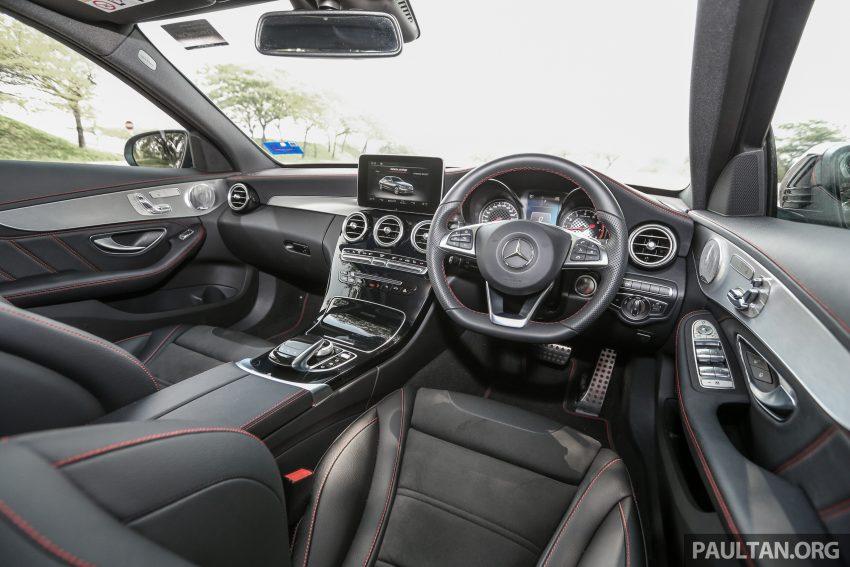 试驾:Mercedes-AMG C 43 / GLC 43,如假包换的 AMG Image #76094