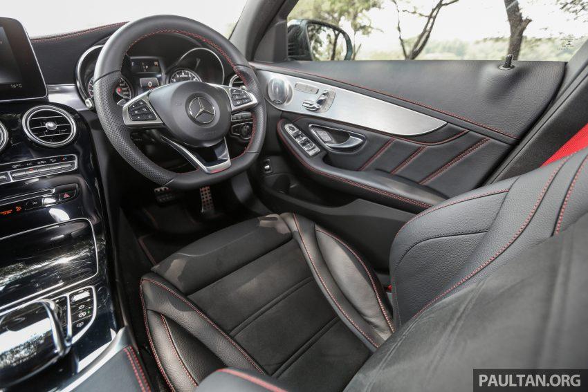 试驾:Mercedes-AMG C 43 / GLC 43,如假包换的 AMG Image #76118