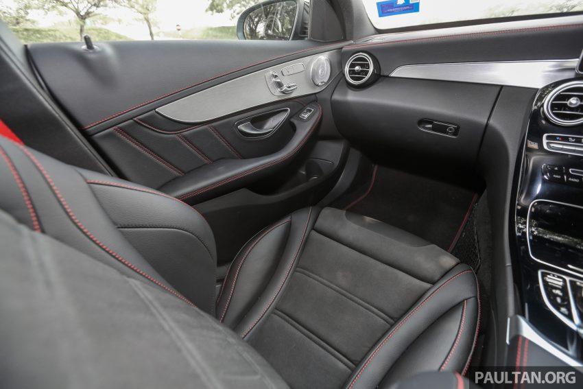 试驾:Mercedes-AMG C 43 / GLC 43,如假包换的 AMG Image #76119