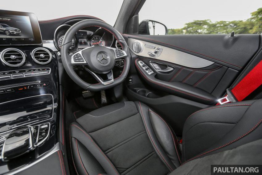 试驾:Mercedes-AMG C 43 / GLC 43,如假包换的 AMG Image #76196