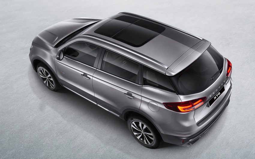 首款SUV面纱揭开,Proton X70 媒体预览,明日开放预订 Image #75726