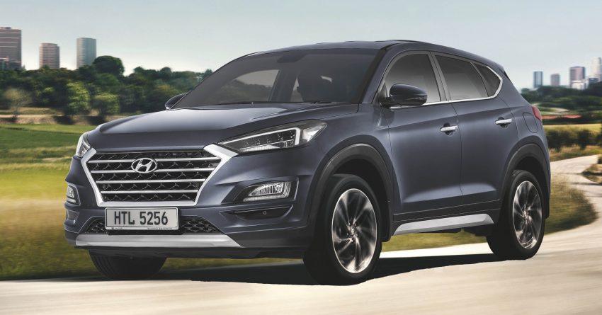 小改款 Hyundai Tucson 本月尾上市,1.6L Turbo/2.0L Elegance 两种等级,预售价从RM124K起,现已开放预订 Image #78417