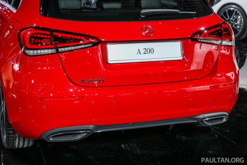 全新 Mercedes-Benz A-Class 登陆大马,入门22万令吉起 Image #78935