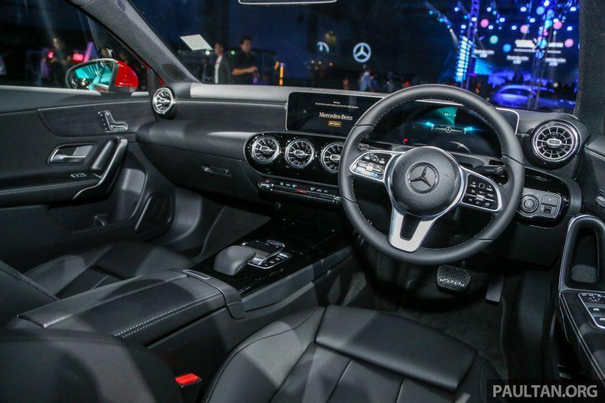 全新 Mercedes-Benz A-Class 登陆大马,入门22万令吉起 Image #78952