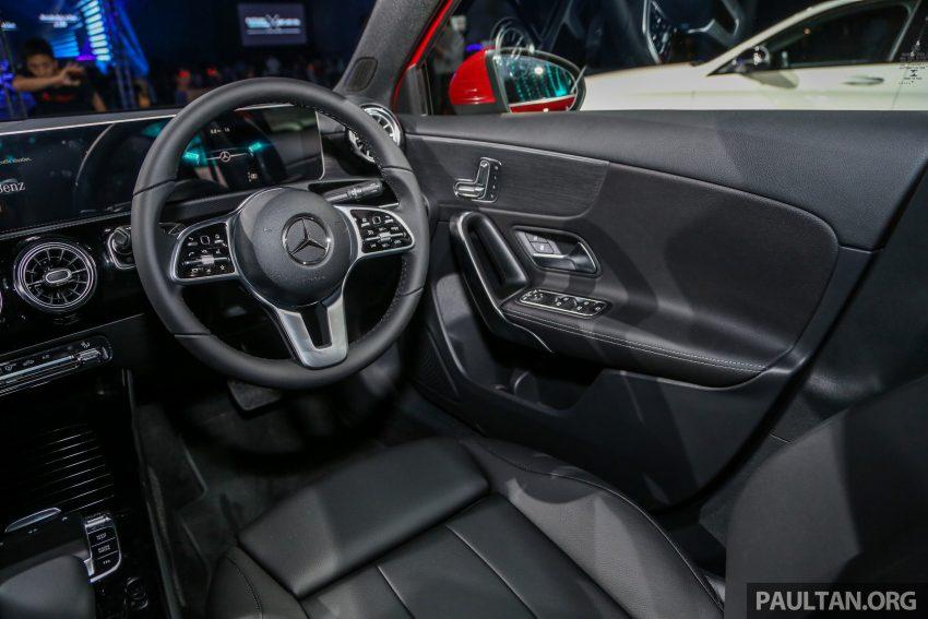 全新 Mercedes-Benz A-Class 登陆大马,入门22万令吉起 Image #78953