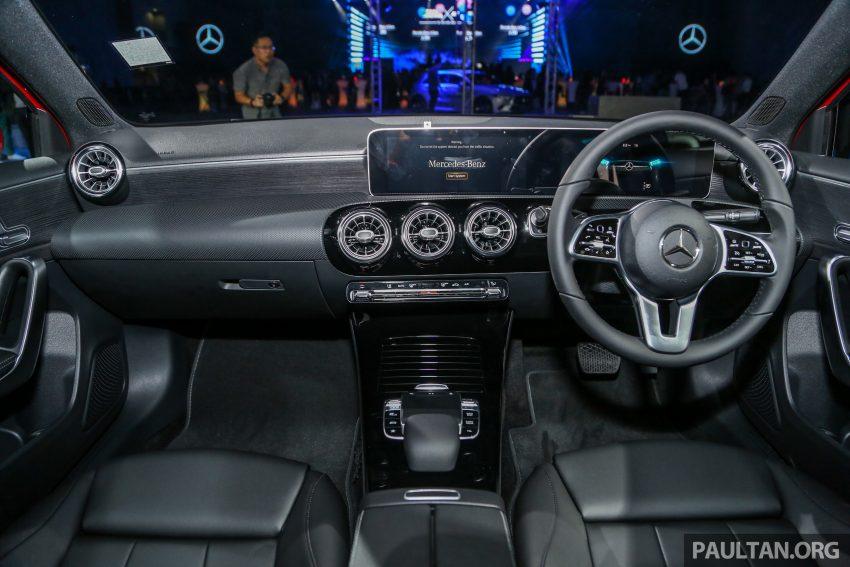 全新 Mercedes-Benz A-Class 登陆大马,入门22万令吉起 Image #78942