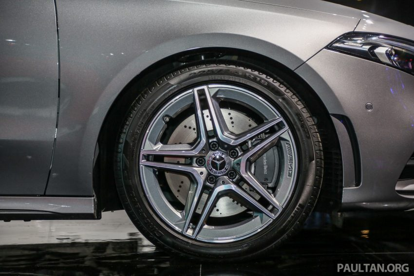 全新 Mercedes-Benz A-Class 登陆大马,入门22万令吉起 Image #78980
