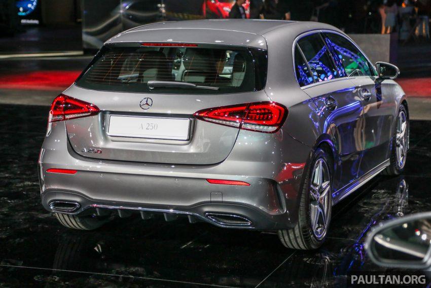 全新 Mercedes-Benz A-Class 登陆大马,入门22万令吉起 Image #78970