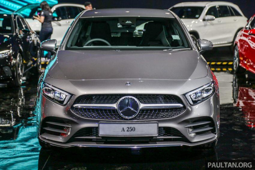 全新 Mercedes-Benz A-Class 登陆大马,入门22万令吉起 Image #78972