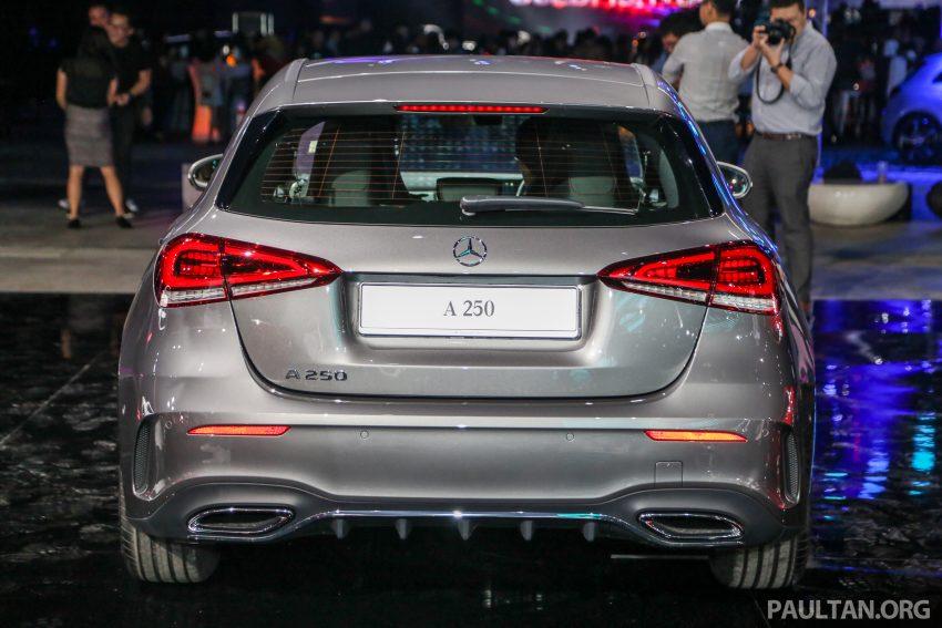 全新 Mercedes-Benz A-Class 登陆大马,入门22万令吉起 Image #78973