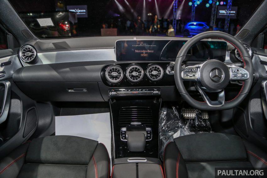 全新 Mercedes-Benz A-Class 登陆大马,入门22万令吉起 Image #78993