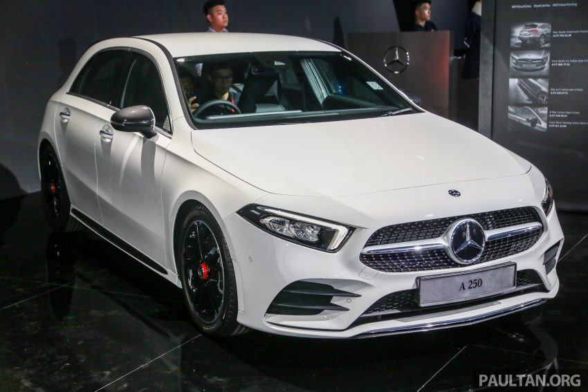 全新 Mercedes-Benz A-Class 登陆大马,入门22万令吉起 Image #79020