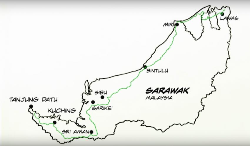 工程部长:泛婆罗州大道工程照跑,必须先解决征地问题 Image #79084