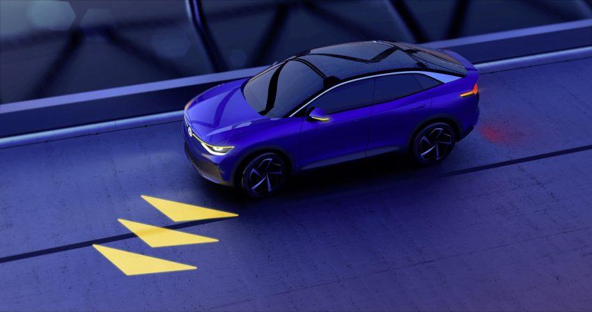 可与道路使用者交流,Volkswagen 研发智能车灯照明技术 Image #79043