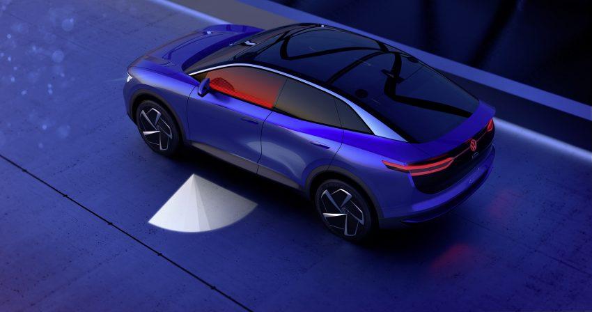 可与道路使用者交流,Volkswagen 研发智能车灯照明技术 Image #79044