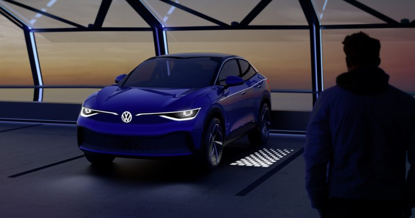 可与道路使用者交流,Volkswagen 研发智能车灯照明技术 Image #79045