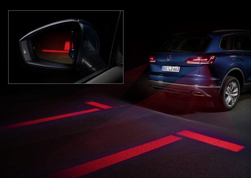 可与道路使用者交流,Volkswagen 研发智能车灯照明技术 Image #79048