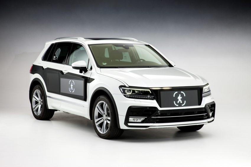 可与道路使用者交流,Volkswagen 研发智能车灯照明技术 Image #79050