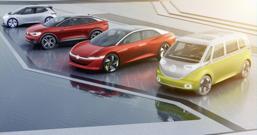 可与道路使用者交流,Volkswagen 研发智能车灯照明技术 Image #79035