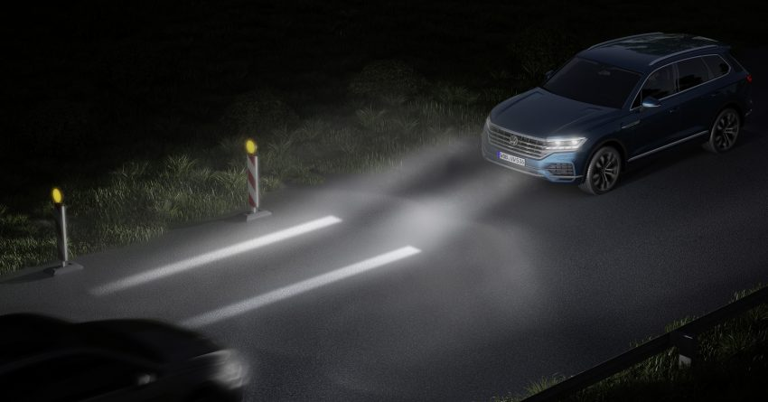 可与道路使用者交流,Volkswagen 研发智能车灯照明技术 Image #79054