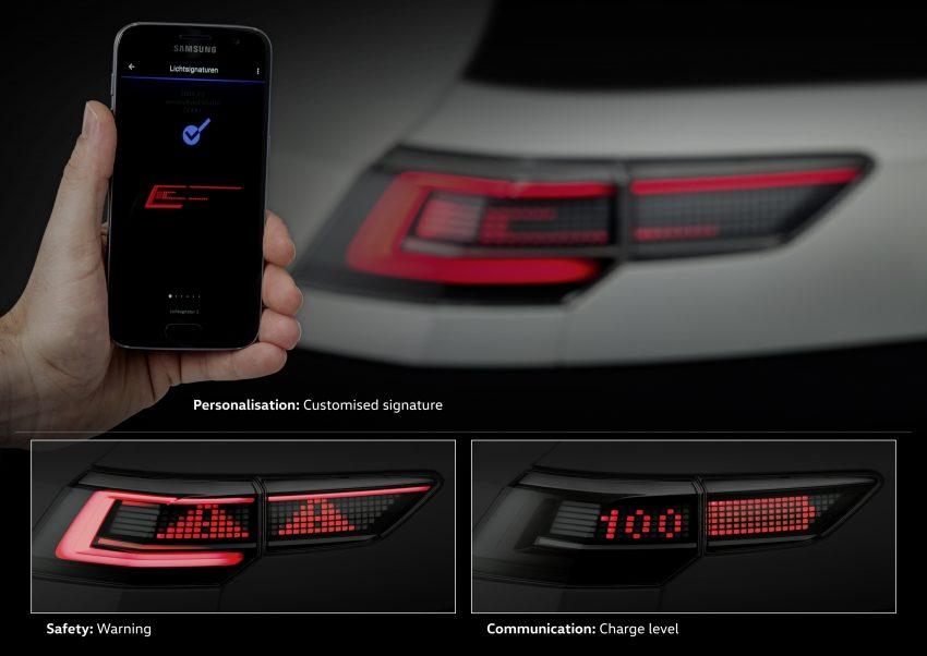 可与道路使用者交流,Volkswagen 研发智能车灯照明技术 Image #79057