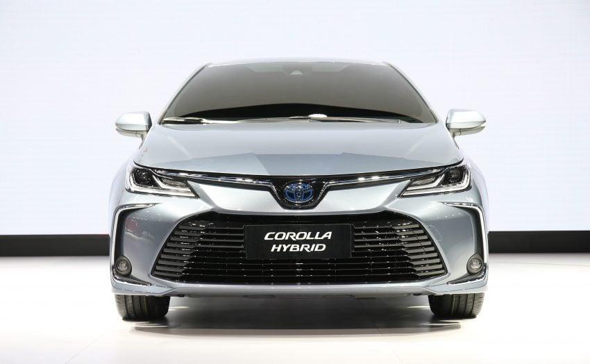 全新第十二代 Toyota Corolla Sedan 广州车展全球首发 2019 Toyota Corolla