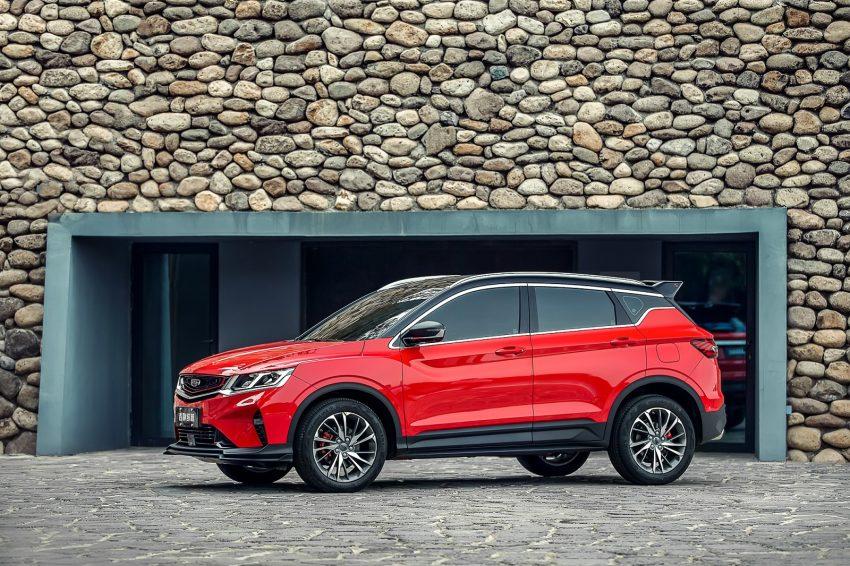 中国正式发布吉利缤越,入门级SUV将很快登陆大马? Image #81250