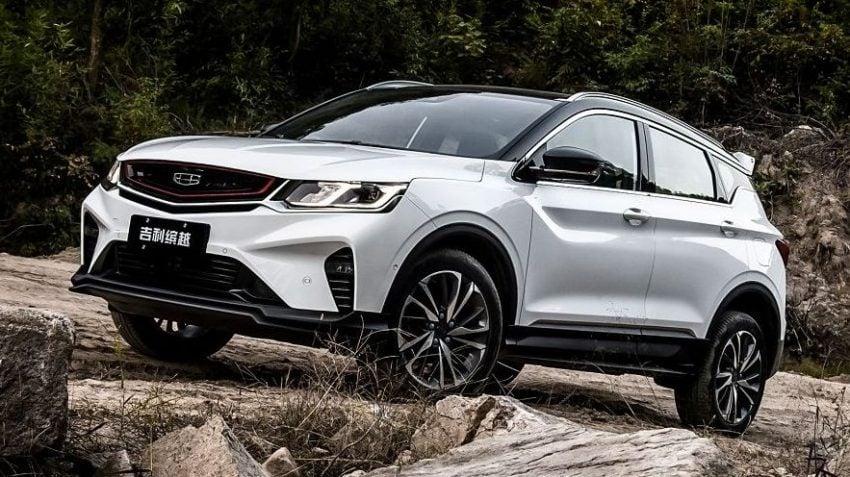 中国正式发布吉利缤越,入门级SUV将很快登陆大马? Image #81256