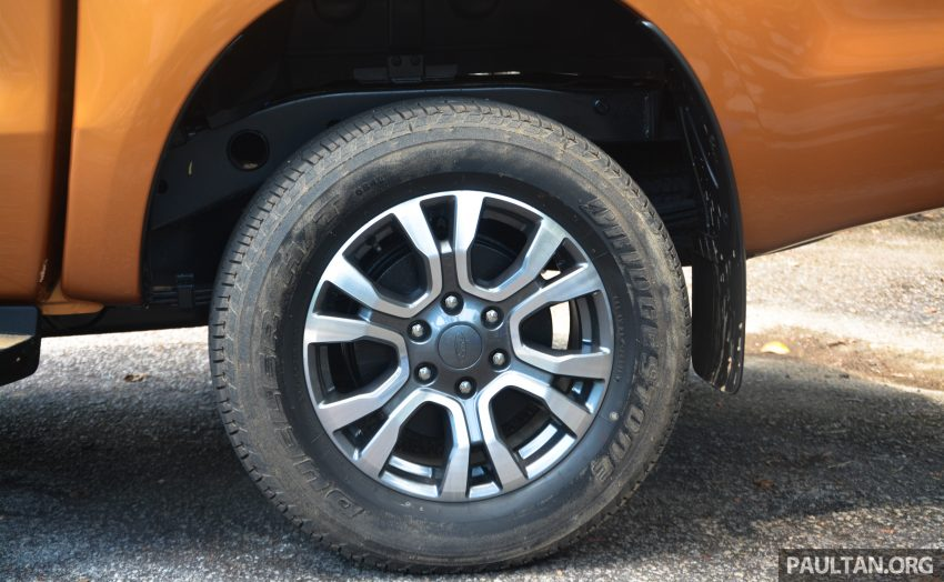 试驾: Ford Ranger Wildtrak 2.0 4×4 小改款, 重都会皮卡 Image #81380