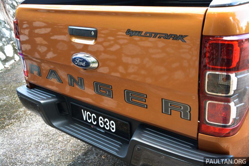 试驾: Ford Ranger Wildtrak 2.0 4×4 小改款, 重都会皮卡 Image #81386