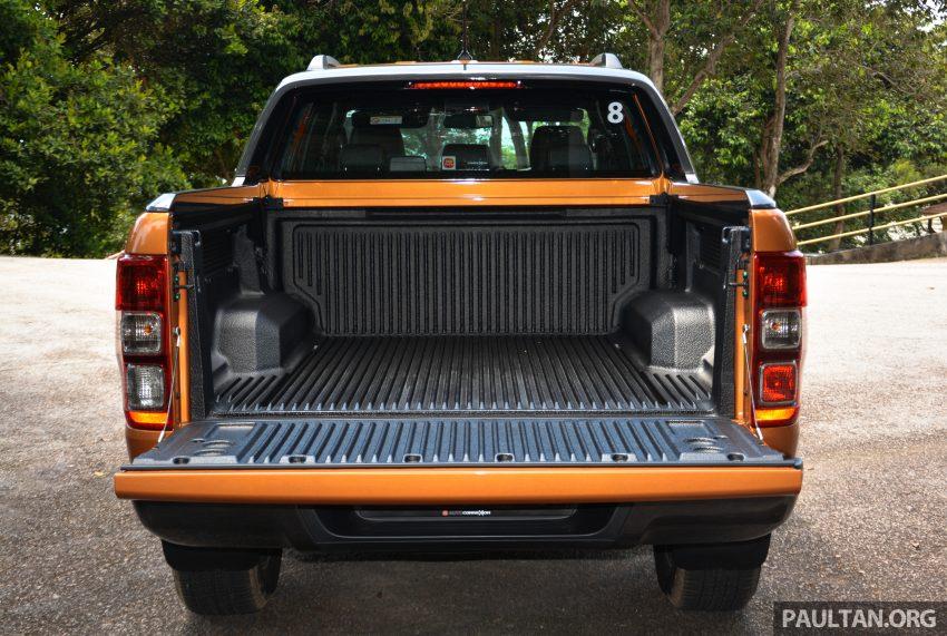 试驾: Ford Ranger Wildtrak 2.0 4×4 小改款, 重都会皮卡 Image #81390