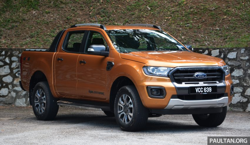 试驾: Ford Ranger Wildtrak 2.0 4×4 小改款, 重都会皮卡 Image #81396