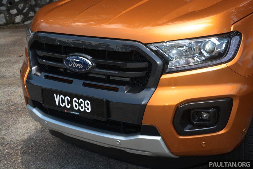试驾: Ford Ranger Wildtrak 2.0 4×4 小改款, 重都会皮卡 Image #81370