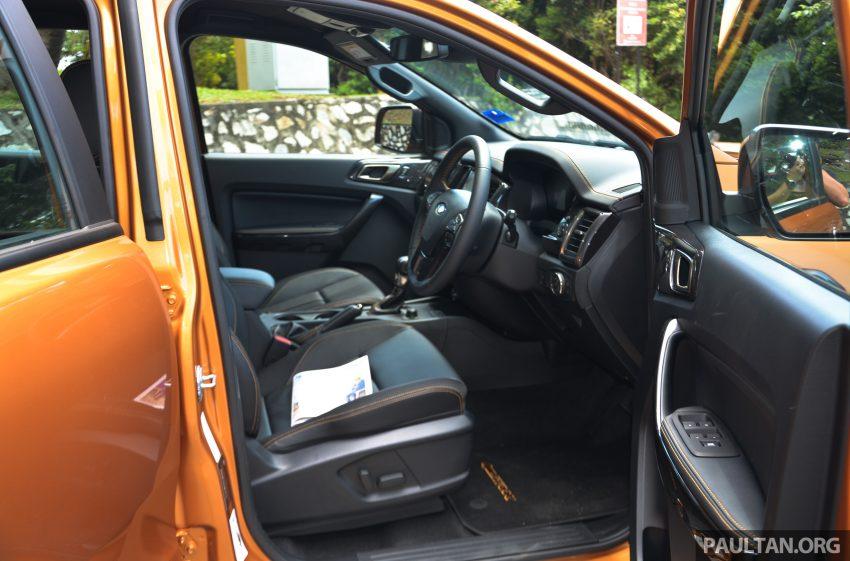 试驾: Ford Ranger Wildtrak 2.0 4×4 小改款, 重都会皮卡 Image #81399