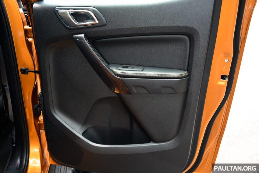试驾: Ford Ranger Wildtrak 2.0 4×4 小改款, 重都会皮卡 Image #81401