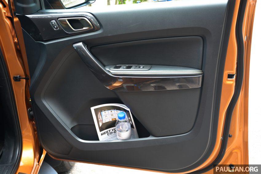 试驾: Ford Ranger Wildtrak 2.0 4×4 小改款, 重都会皮卡 Image #81402