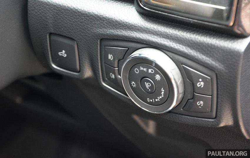 试驾: Ford Ranger Wildtrak 2.0 4×4 小改款, 重都会皮卡 Image #81406