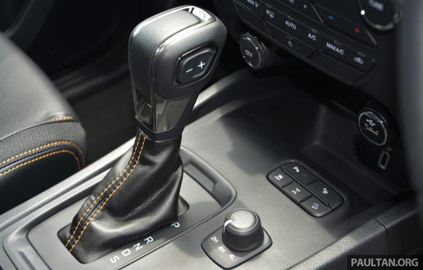 试驾: Ford Ranger Wildtrak 2.0 4×4 小改款, 重都会皮卡 Image #81407