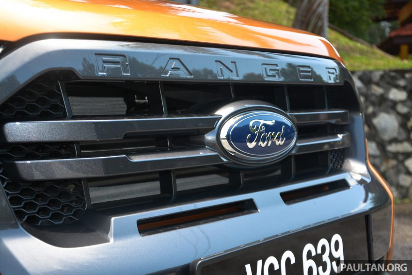 试驾: Ford Ranger Wildtrak 2.0 4×4 小改款, 重都会皮卡 Image #81371