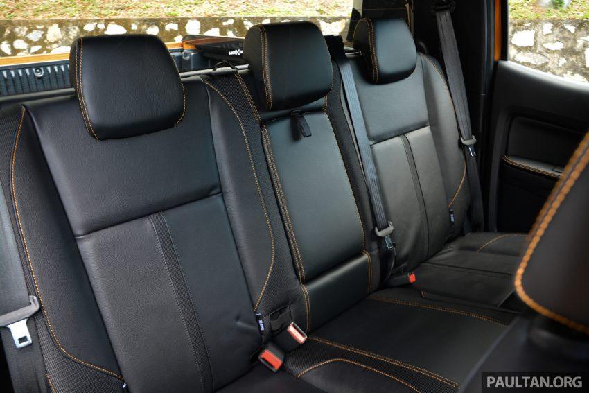 试驾: Ford Ranger Wildtrak 2.0 4×4 小改款, 重都会皮卡 Image #81417