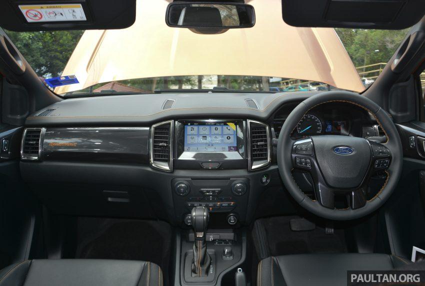 试驾: Ford Ranger Wildtrak 2.0 4×4 小改款, 重都会皮卡 Image #81422