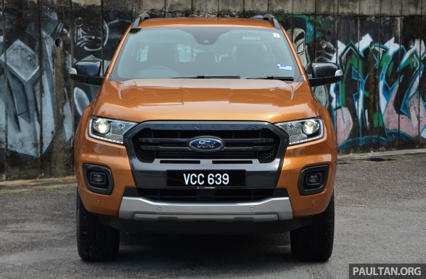 试驾: Ford Ranger Wildtrak 2.0 4×4 小改款, 重都会皮卡 Image #81428
