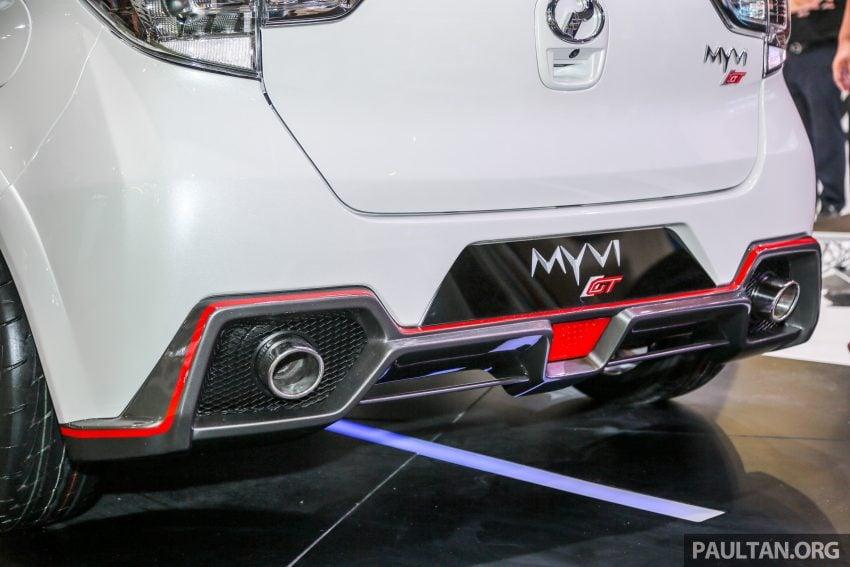 KLIMS18:Perodua Myvi GT 现身车展,外观内装更热血 Image #82502