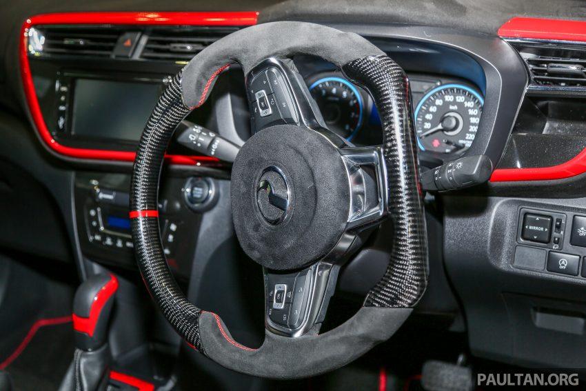 KLIMS18:Perodua Myvi GT 现身车展,外观内装更热血 Image #82505