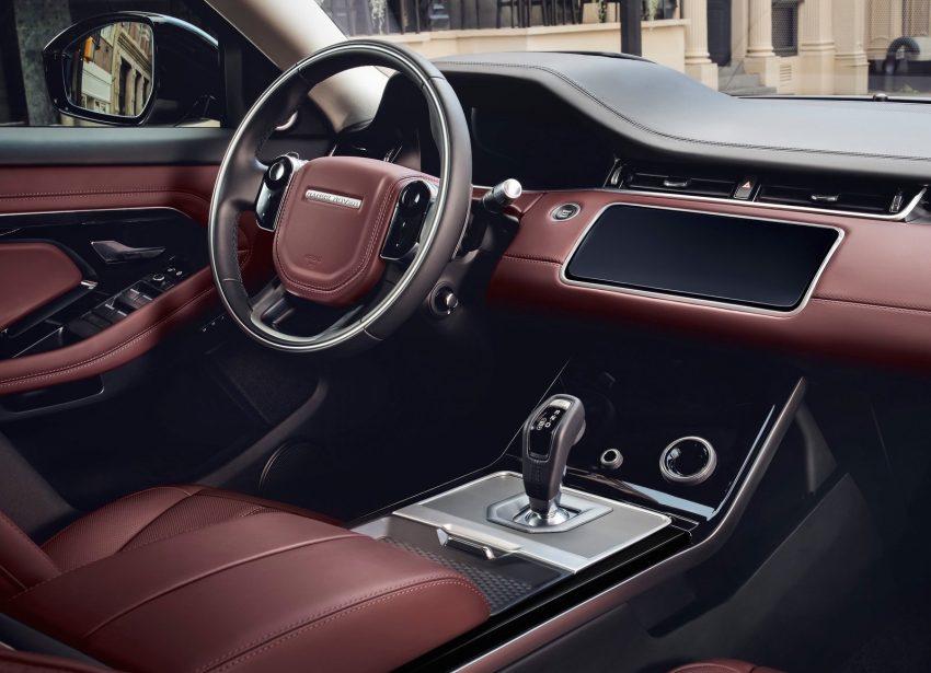 第二代 Range Rover Evoque 面世,搭载轻油电混动系统 Image #83213