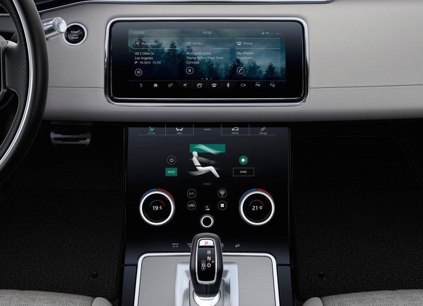 第二代 Range Rover Evoque 面世,搭载轻油电混动系统 Image #83220