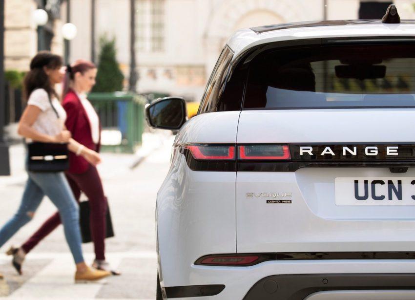 第二代 Range Rover Evoque 面世,搭载轻油电混动系统 Image #83229