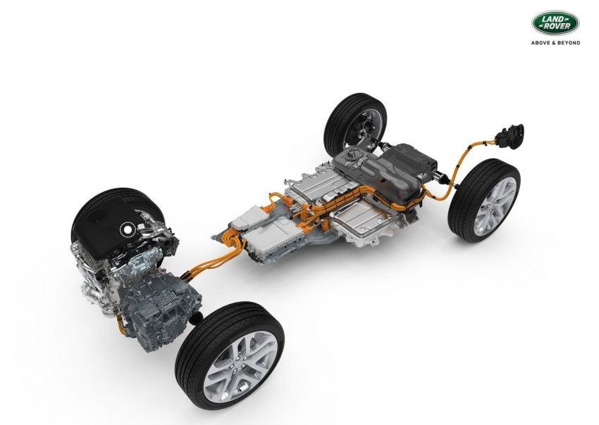 第二代 Range Rover Evoque 面世,搭载轻油电混动系统 Image #83234