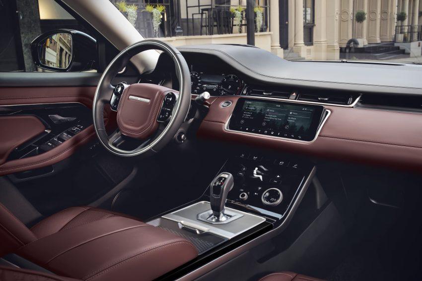 第二代 Range Rover Evoque 面世,搭载轻油电混动系统 Image #83238